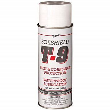 Corrosion and lubricant spray for the teardrop