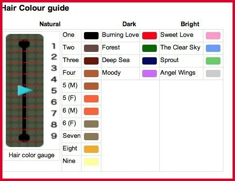 Pin By Karen Helm On Animal Crossing Acnl Hair Guide Hair Guide Hair Chart