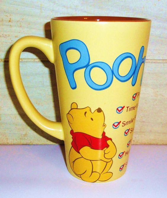 exceptional Winnie The Pooh Kitchen Decor #2: Large Vintage Winnie the Pooh Mug - Disney - Collectibles - Home Decor -  Housewares -