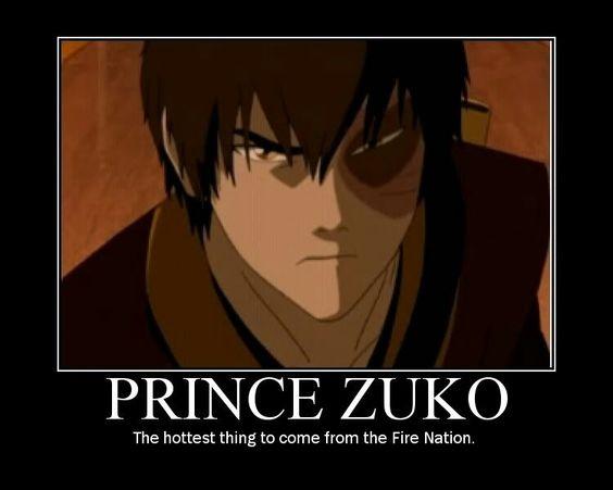 Prince Zuko Avatar the Last Airbender