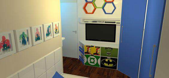 3D – Dormitório Infantil | Projetta Arquitetura & Obras
