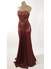 Old Hollywood Glamour Golden Vintage Inspired Evening Gown ...