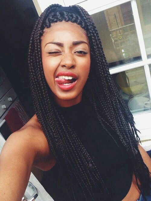 Groovy 1000 Images About Hairstyles On Pinterest Black Girls Box Short Hairstyles Gunalazisus