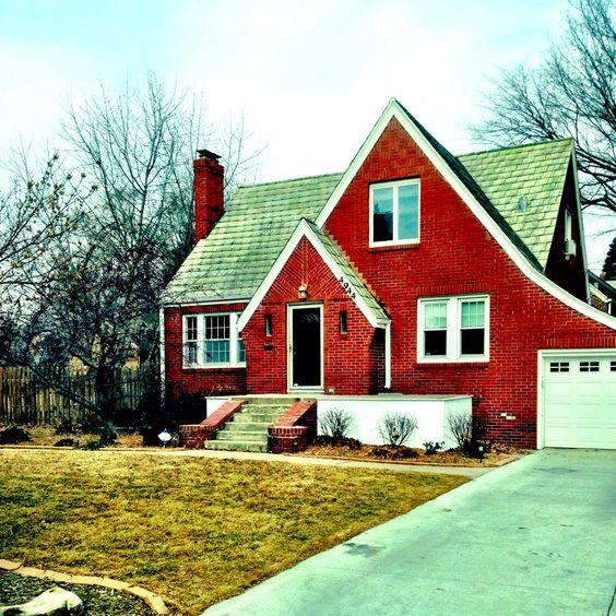 1930s Red Brick Tudor Home