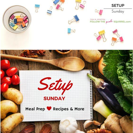 Setup Sunday (Jar Salads)