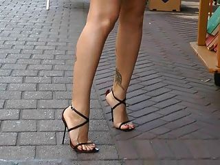 Window Shopping In Italian High Heel Sandals | PRIVATE MOMENTS ...