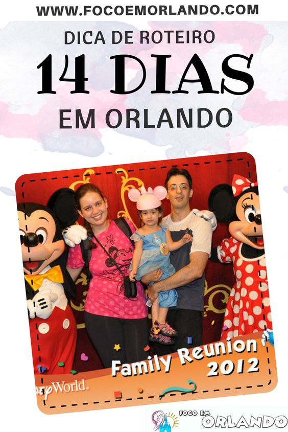 Pinterest - 14 dias em Orlando com crianças