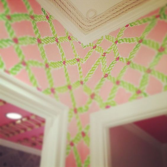 Lilly Pulitzer Towson Town Center - Nautical rope dressing room. #webstagram #lillypulitzer