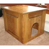 Found it at AllModern - Raised Panel Litter Box Concealment Cabinet