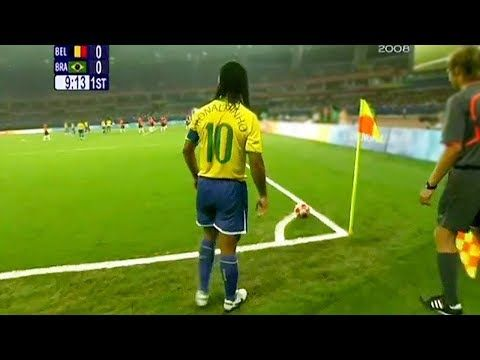 10 Ronaldinho Goals That Are Impossible To Repeat Youtube In 2020 Football Tricks Ronaldinho Gaucho Real Madrid Football