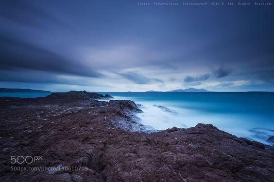 Deep blue... by GeorgePapapostolou
