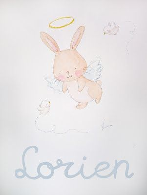 Conejito ángel