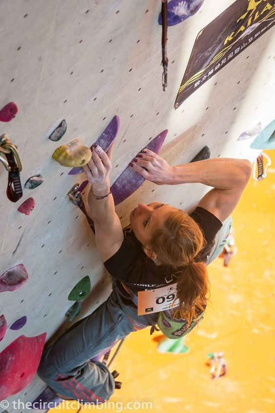 ©The Circuit World Cup and Performance Climbing Magazine