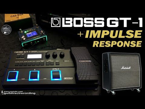 Boss Gt 1 Cabinet Vs Impulse Response Cab Box Youtube Impulse Response No Response Eric Johnson