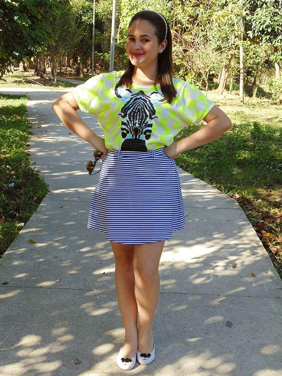 Dicas da Laiza: Look - Camiseta de Zebra