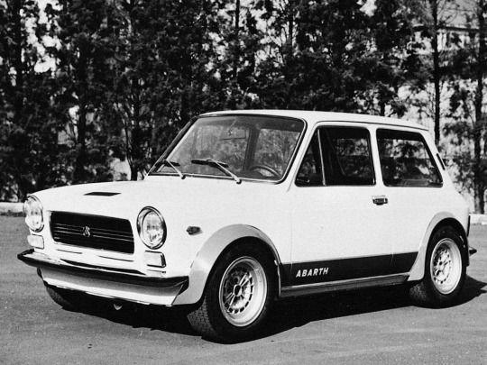 1970 Autobianchi A112 Abarth Prototipo (1 Serie)