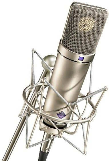#Neumann U 87 Ai Set Z Multipattern Microphone with Shock-Mount, Windscreen, and Cable in Nickel from #VintageKing