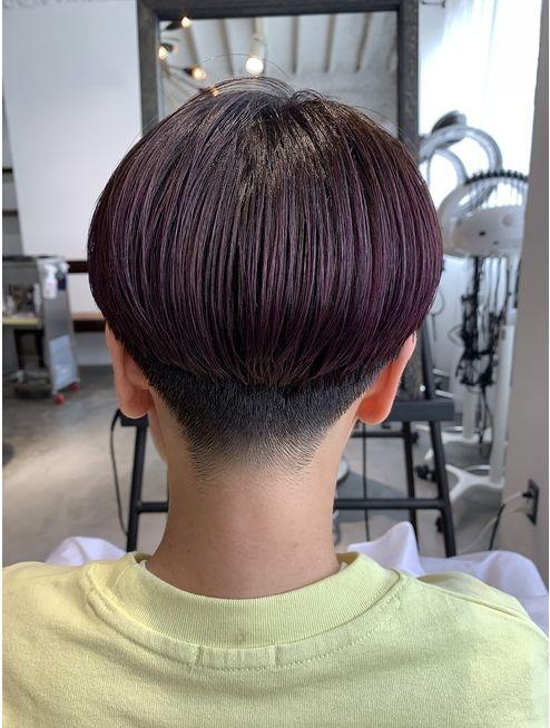 刈り上げ女子マッシュショート L033738415 レガーレ Legare のヘアカタログ ホットペッパービューティー 刈り上げヘア 刈り上げ女子 マッシュショート