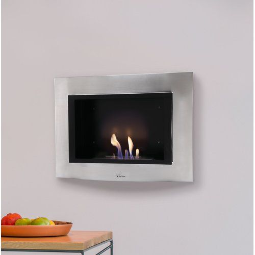 Belfry Heating Amina Wall Mounted Bio Ethanol Fire Indoor Electric Fireplace Wall Mounted Electric Fires Belfry