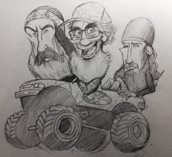 Duck Dynasty Kids Coloring Pages