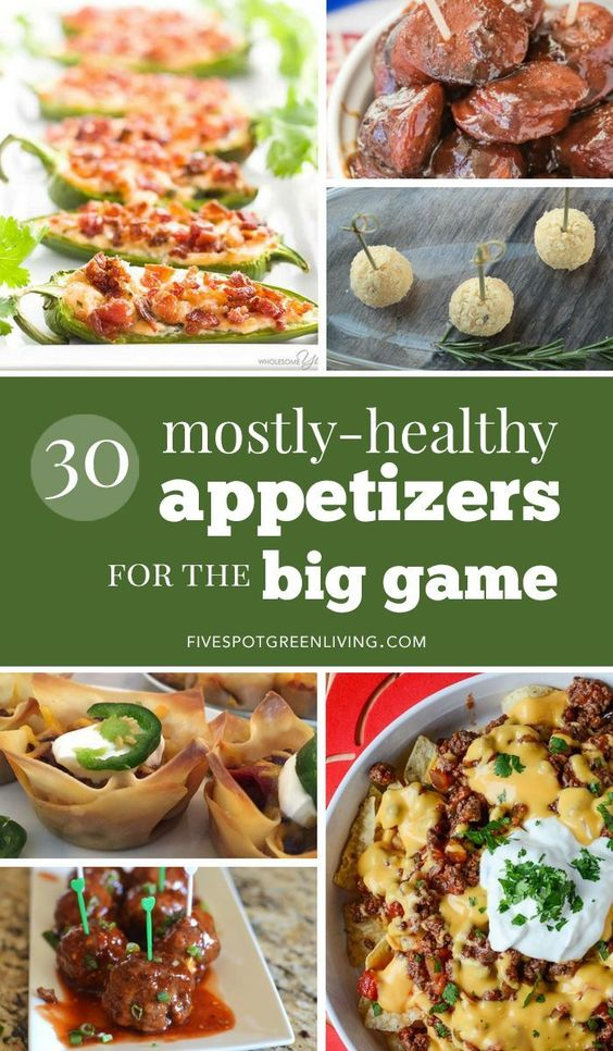 Thirty Easy Super Bowl Appetizers - Five Spot Green Living