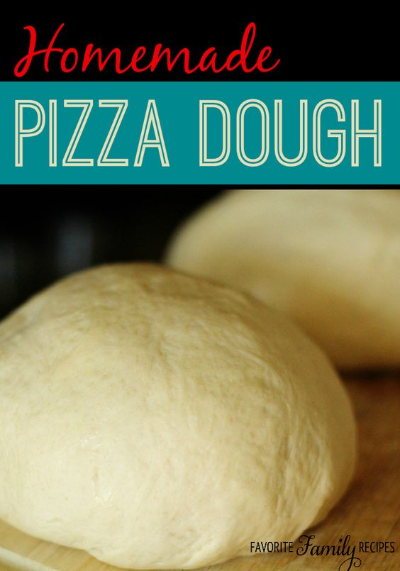 I'm not kidding, this homemade pizza dough is the best! #pizzadough #homemadepizzadough