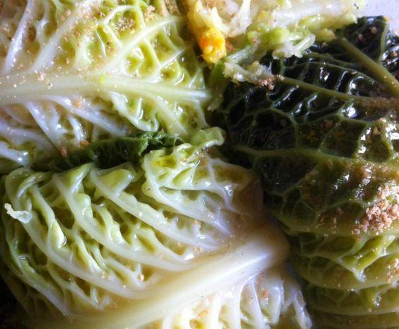 Ricetta Involtini vegan di cavolo verza pubblicata da simoins - Questa ricetta è nella categoria Secondi piatti vegetariani