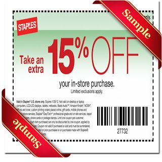 Staples coupons 20 off 60
