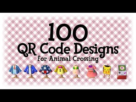 100 Qr Code Designs 4 Animal Crossing New Horizons Acnh Acnl