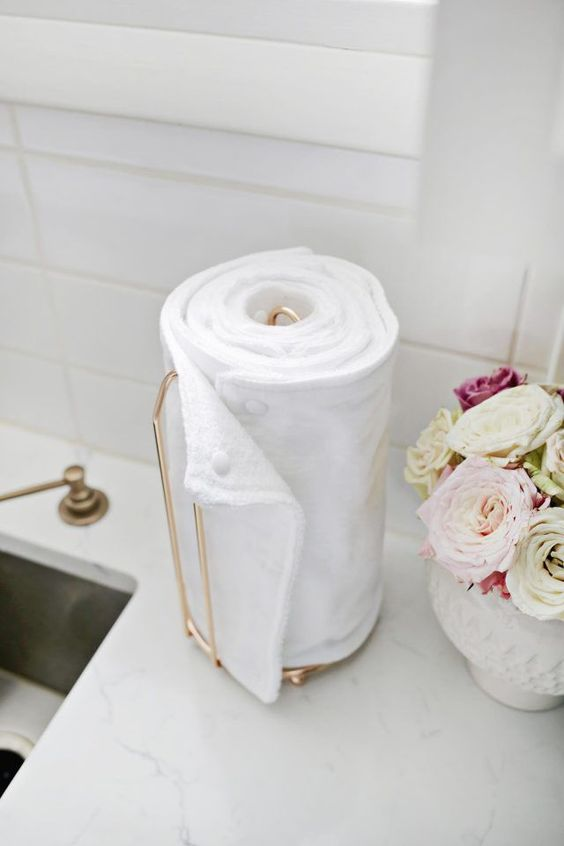 be sustainable in 2020 with unpaper towel rolls, eco friendly, reusable, waste-free cloth diy towels | soyvirgo.com