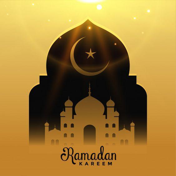 Ramadan kareem background Free Vector