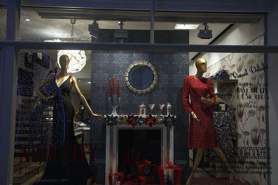 Christmas Window Displays 2014 – Harrods, Selfridges (Vogue.com UK)