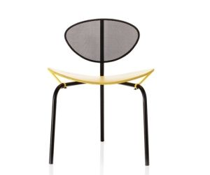 Nagasaki Chair by Mathieu Mategot, 1950's: Recently reissued by Gubi. by lorraine