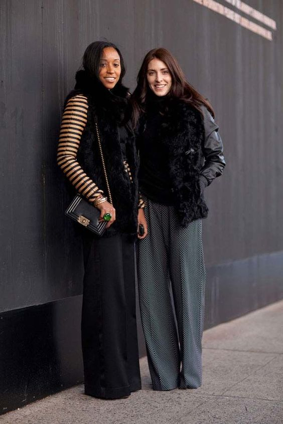 How to wear: il pantalone palazzo