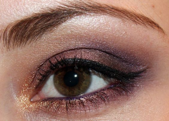 Fall Series : Night out Look - Gold, Copper & Purple (Drugstore) ~ Luhivy's favorite things
