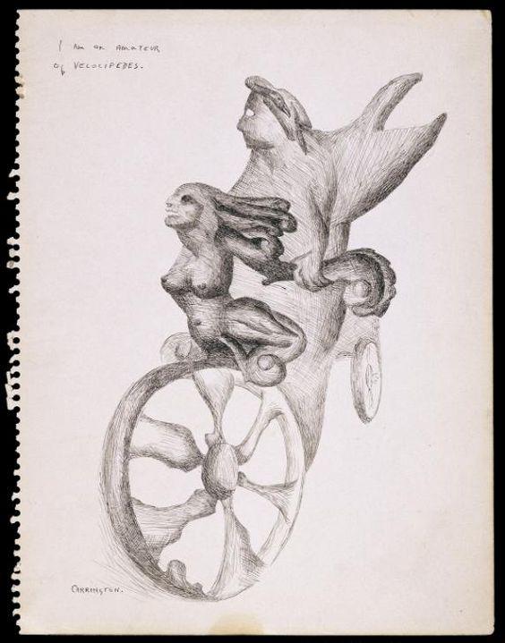 Leonora Carrington 'I am an Amateur of Velocipedes', 1941 © The estate of the artist, DACS, 2016