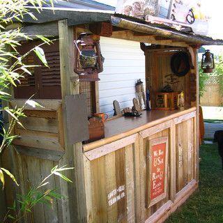 Build A Tiki Bar | An Indiana Jones themed Tiki Bar
