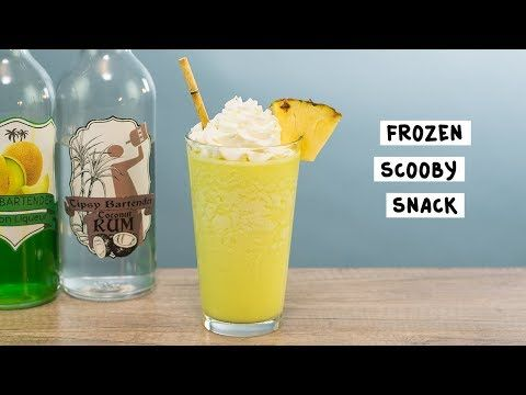 Frozen Scooby Snack Tipsy Bartender Recipe Scooby Snack Drink Recipe Tipsy Bartender Scooby Snack Drink