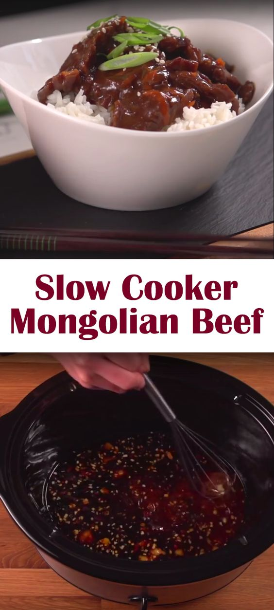 Slow Cooker Mongolian Beef | Recipe | Mongolian beef recipes, Olives ...