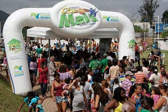 Prefeitura de Nova Iguaçu reúne mais de 20 mil pessoas no Chega Mais Comunidade