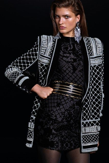 The Balmain x H&M Look Book has landed - click through to see every piece