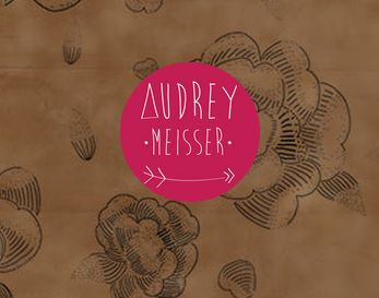 visual identity from my website @Audrey Meisser