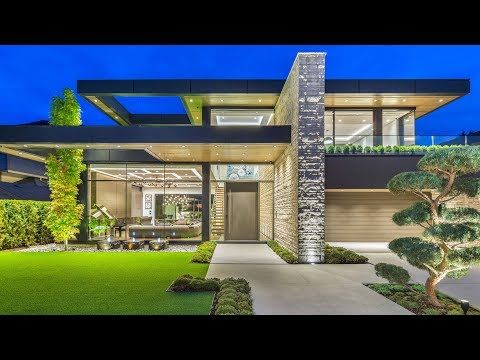 4 Winner Of Best Single Family Home In Canada 2016 2017 Marble Construction 360hometours Ca Inc Youtube Canadian House Modern Family House Modern House