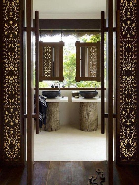 Beautiful Balinese Style House In Hawaii: Pedestal, Style And Modern Asian