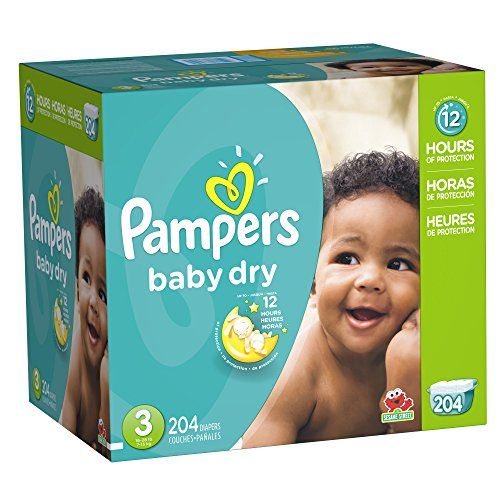 News Pampers Baby Dry Size 3 Economy Pack Plus, 204 Count   buy now     $45.97 Up to 12 hours of overnight protection! With Pampers Baby Dry diapers, your baby can get Up to 12 hours of overnight protectio... http://showbizlikes.com/pampers-baby-dry-size-3-economy-pack-plus-204-count/