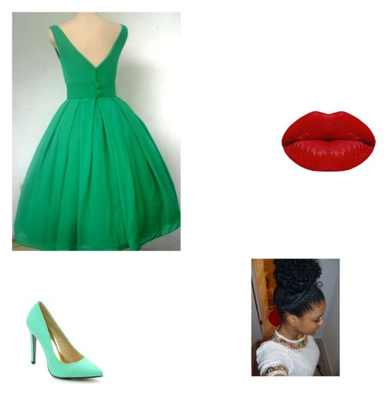 """tiana by millie"" by fourkids4him ❤ liked on Polyvore featuring beauty, Cape Robbin and Winky Lux"