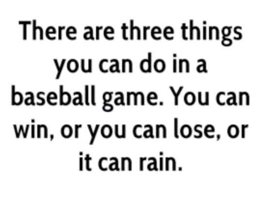 Baseball truth