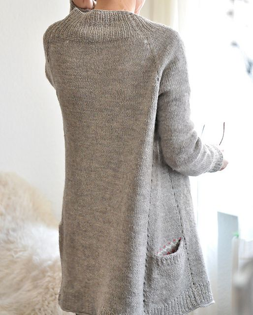 Knitting, Ravelry and Long cardigan on Pinterest