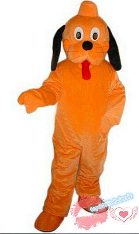 New Goofy /& Pluto Mascot Costume Adult Xmas Halloween Cosplay Parade Party Dress