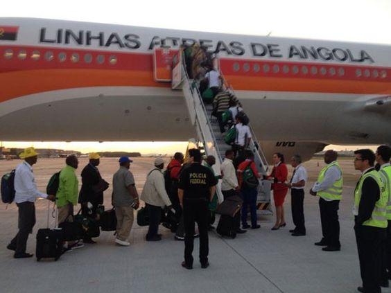 Camarões deixou o Rio depois de ser eliminada do mundial. (Foto: PFRJ/Divulgação)